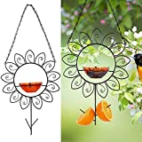FORUP Oriole Bird Feeder for Outdoors Jelly and Oranges, Orange Fruit Oriole Jelly Bird Feeder,...