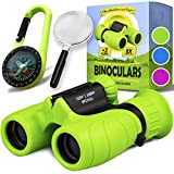 Binoculars for Kids - Perfect Toy for Little Boys and Girls - Extensive Set Including Magnifying...