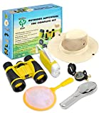 Adventure Kids - Outdoor Explorer Kit, Children Binoculars, Flashlight, Compass, Magnifying Glass,...