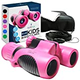 Binoculars for Kids - Small, Compact, Shock-Resistant Toy Binoculars - Learning & Nature Exploration...