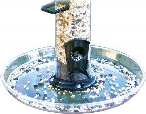 bird seed catcher lawn protector